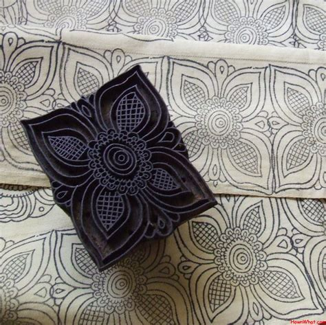 how to print images on fabric how to carve and block print on a fabric
