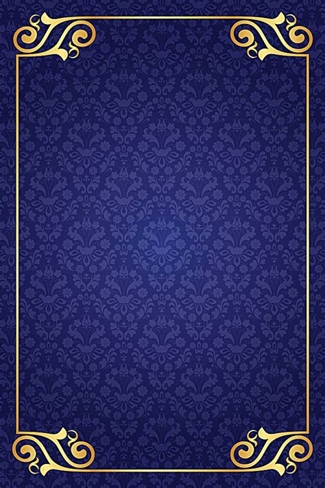 european pattern blue background blue flowers background