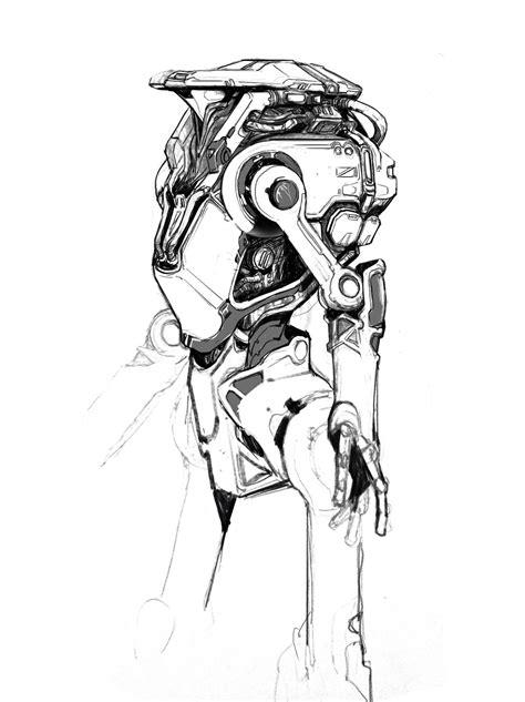 ArtStation - Mechanic 0317, Hans Park | Alien concept art