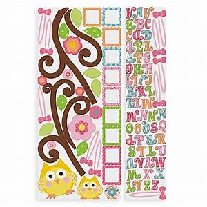 happi letter branch peel stick giant wall decal buybuy With giant letter wall decals