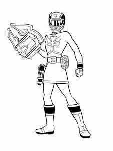 Power Rangers Dibujos Infantiles Para Colorear Para