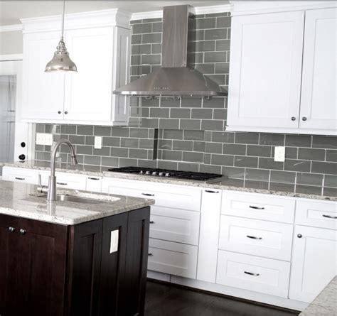 $995sf Ocean Gray Glass 3 X 6 Inch Subway Tile
