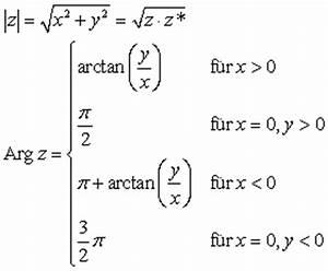 Argument Berechnen : trigonometrische form komplexer zahlen ~ Themetempest.com Abrechnung