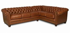 Chesterfield – Leather Sectional