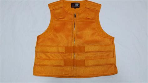 Find Golden Orange Perforated Nylon Bulletproof-style