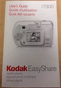 Kodak Digital Camera Manual  User U0026 39 S Guides