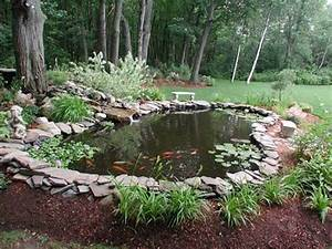 21 garden design ideas small ponds turning your backyard for Garden ponds design ideas