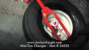 Mini-tire Changer  61179