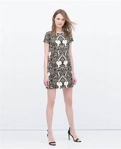 robe imprimee tout voir robes femme zara france With robe imprimée femme