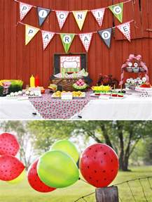 Summer Picnic Theme Party