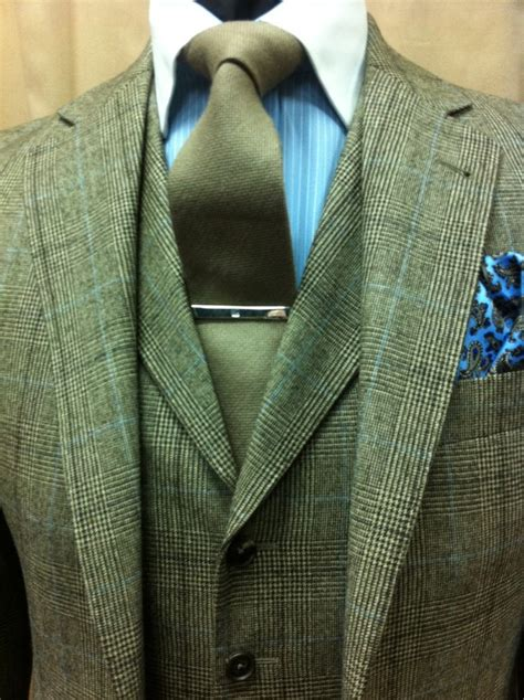Closeup Country Tweed Wedding Suit  Fashion Pinterest