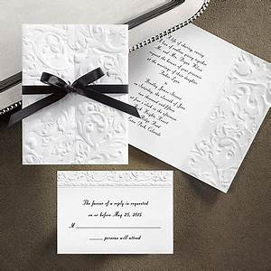 24 best images about invitations on pinterest fashion With ribbon around wedding invitations