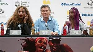 Las hermanas Serena y Venus Williams visitan la Argentina LA GACETA Tucumán