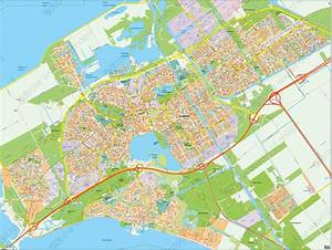 Digital City Map Almere 390
