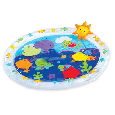 water play mat water filled toys