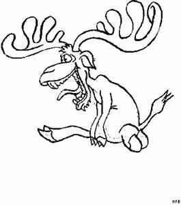 Elch Vorlage Kostenlos : elch sitzend ausmalbild malvorlage comics ~ Lizthompson.info Haus und Dekorationen