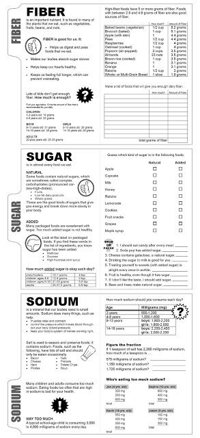 images  good nutrition worksheet healthy