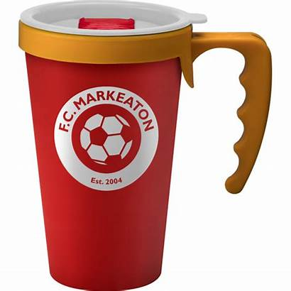 Reusable Coffee Promotional Mug Universal Handle Mugs