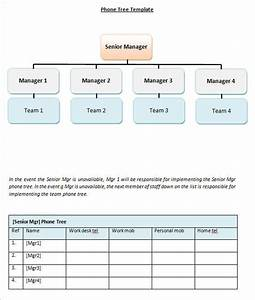 15  Phone Tree Template Free Word  Pdf  Excel Documents