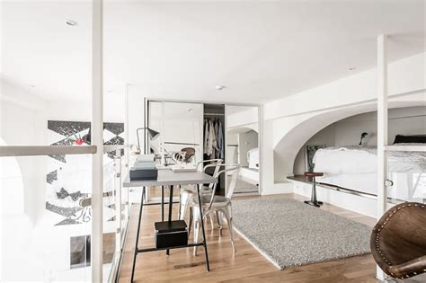 Tiny Scandinavian Studio Loft by Studio Apartment With A Great Room Height
