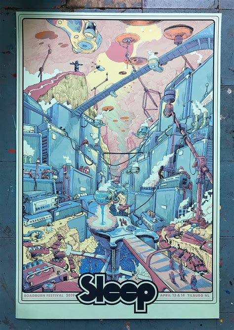 Sleep's poster for Roadburn 2019 is amazing. : doommetal
