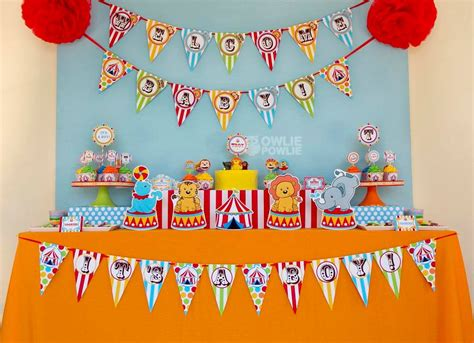 circus carnival baby shower baby shower ideas themes