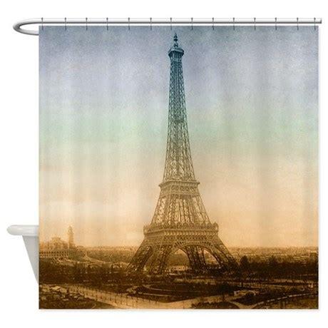 eiffel tower shower curtain shower curtains eiffel tower home decoration club