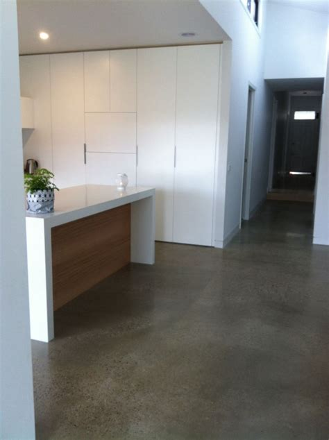 polished concrete floor kitchen best 25 polished concrete tiles ideas on grey 4301