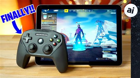 fortnite  controller  ipad pro iphone xr  epic