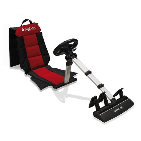 support siege baquet bigben racing seat ps3 ps2 pc volant pc bigben