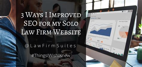 seo my website 3 ways i improved seo for my firm website