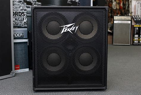 peavey 410 bass cabinet peavey 410 tvx bass speaker cabinet mint reverb