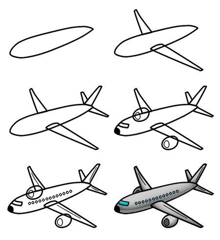 drawing  cartoon airplane