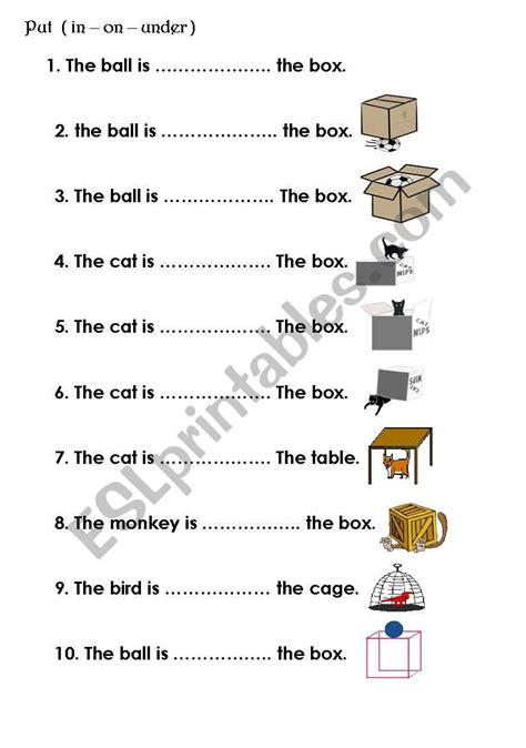 good  teaching prepositions  images
