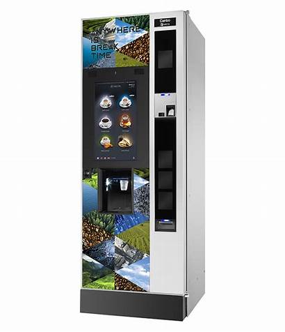 Touch Canto Necta Vending Pleasure Coffee Sensory