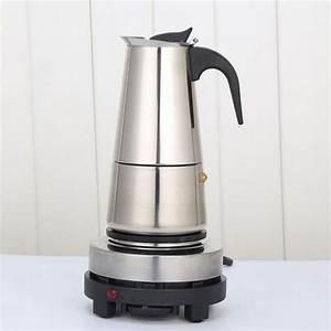 Espressokocher Edelstahl Elektrisch : 220v elektrisch kaffeekanne edelstahl espressok nnchen ~ Watch28wear.com Haus und Dekorationen