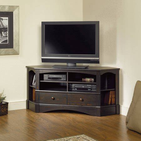 Entertainment Credenzas by Sauder Harbor View Corner Entertainment Credenza For Tvs
