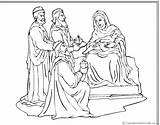 Coloring Wisemen Nativity Crafts Pages Christmas Craft Bible Freekidscrafts sketch template