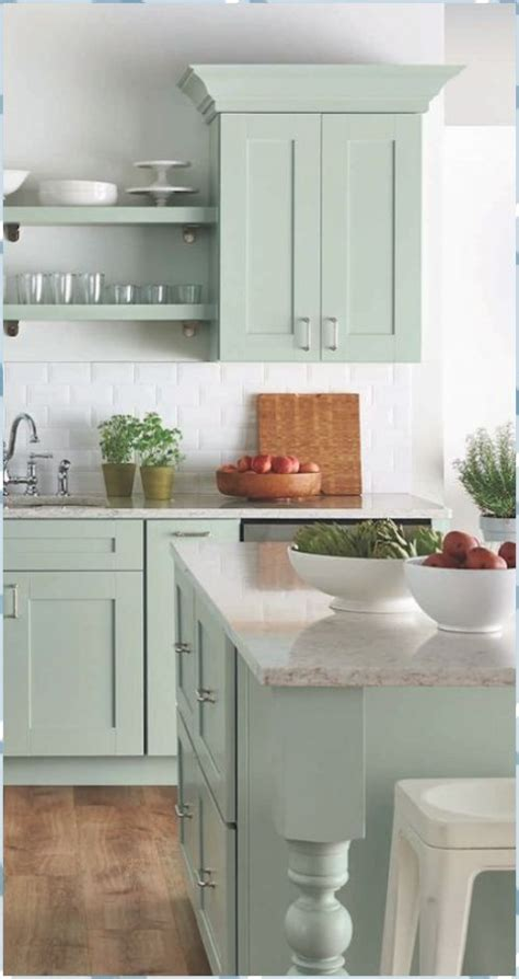 51 Green Kitchen Designs Decoholic Category #Green #