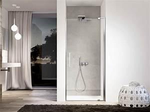 Niche De Douche : cabine de douche en niche en verre slim 03 by ideagroup ~ Premium-room.com Idées de Décoration