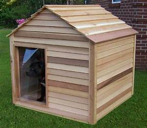 1030 best dog houses large dogs images on pinterest big for Large insulated dog house