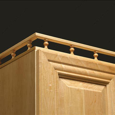 cabinet rail decorative spindle rail richelieu hardware