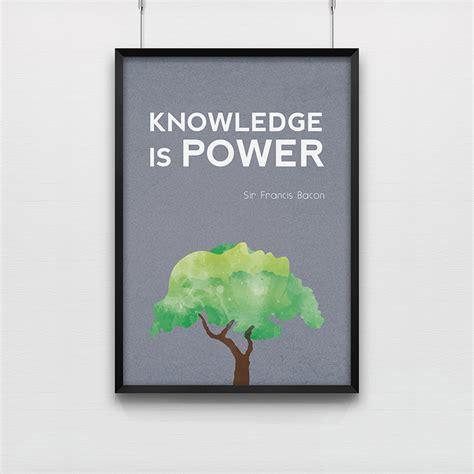 bureau postier poster knowledge is power kollori com