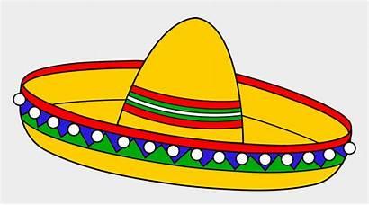 Sombrero Mexican Clipart Spanish Hat Clip Cinco