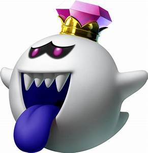 King Boo Artwork by Bowser-The-Second on DeviantArt