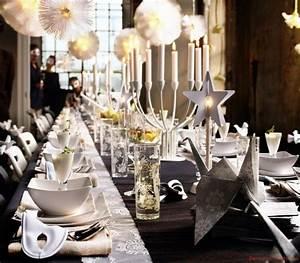 Tischdeko Weihnachten Silber : tischdeko zu weihnachten ideen f r festliche tafeldeko ~ Watch28wear.com Haus und Dekorationen