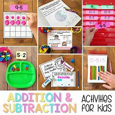 Addition And Subtraction To 20 Activities For Kids Proud