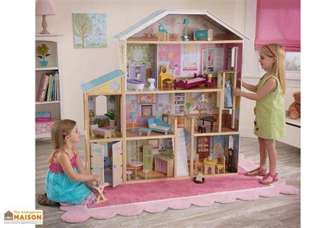 maison de poupee en bois maison de poup 233 es majestueuse kidkraft