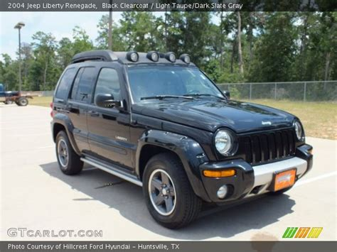 jeep renegade dark blue black clearcoat 2004 jeep liberty renegade light taupe