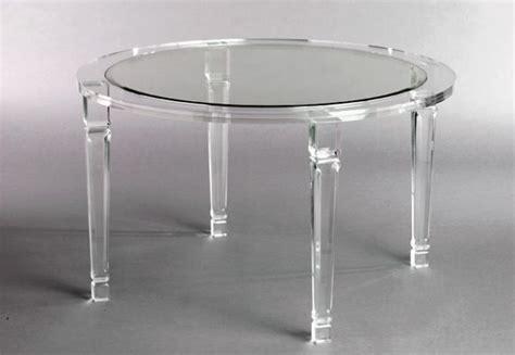 Coffee Tables Ideas Acrylic Grey Round Acrylic Coffee